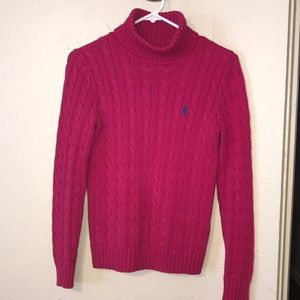 Ralph Lauren Sport turtleneck knit sweater